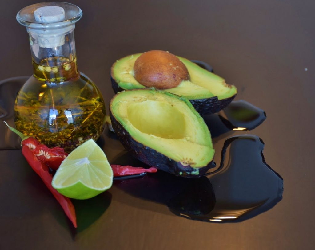 avocado oil for eczema food