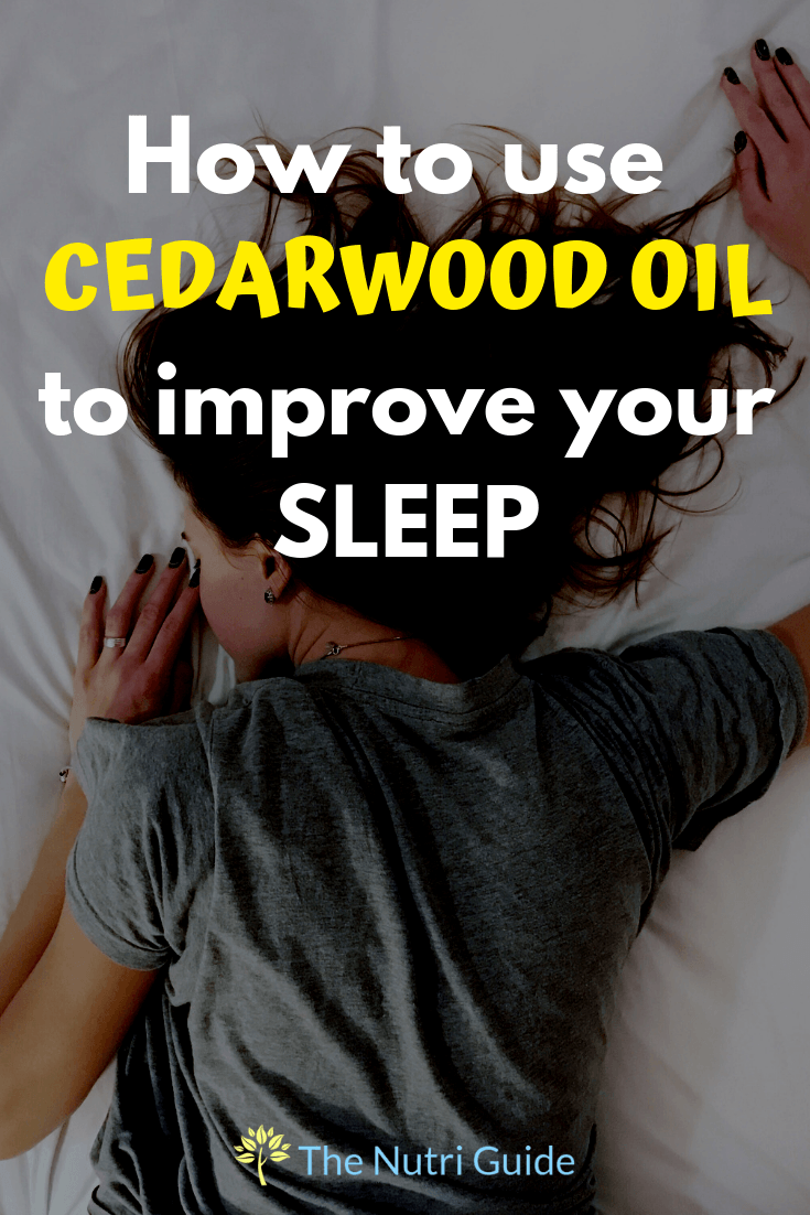 cedarwood oil for sleep