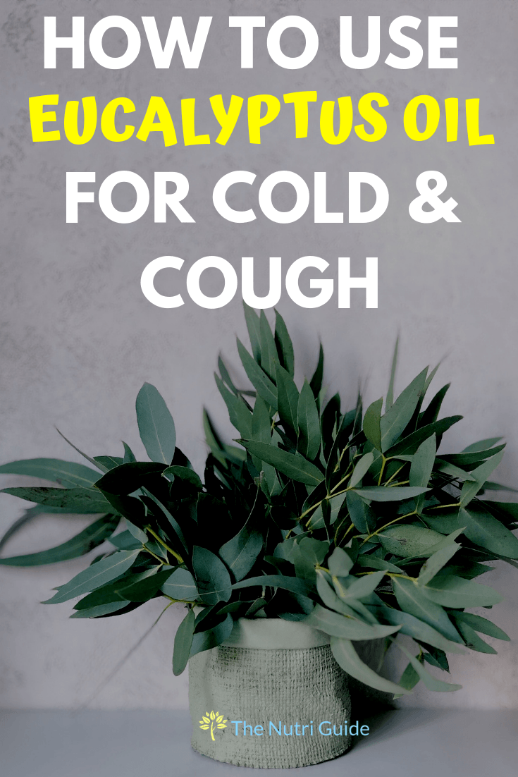 eucalyptus oil for cold and cough pin