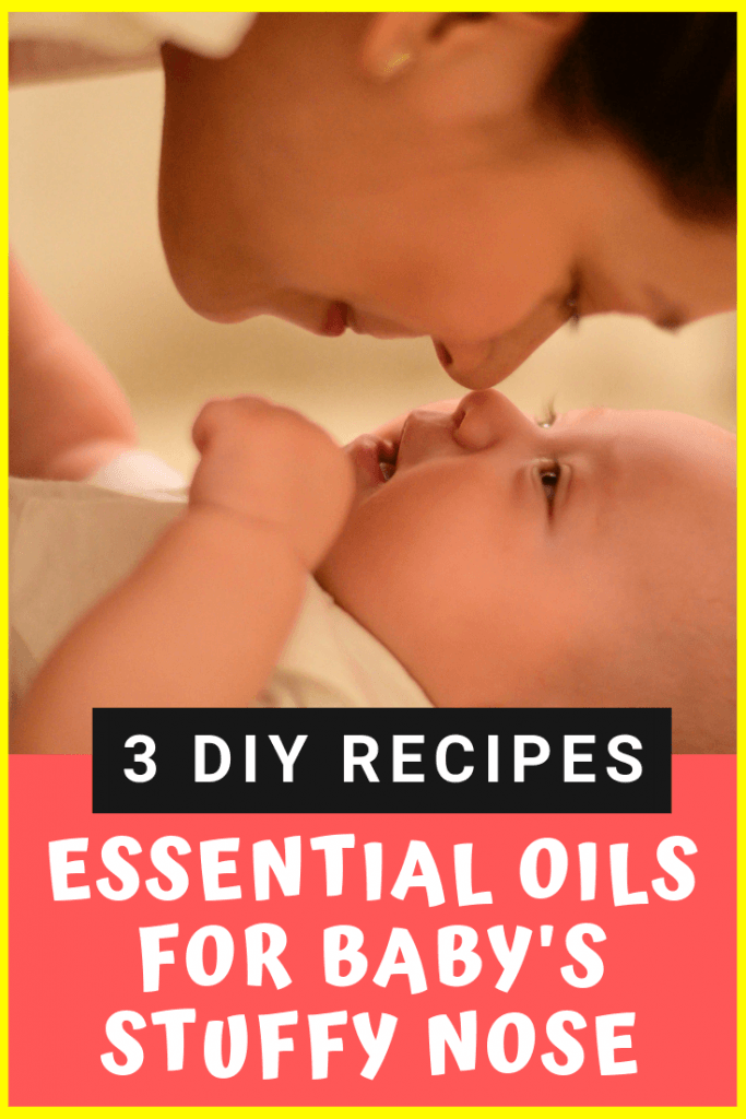 essential oils for baby stuffy nose