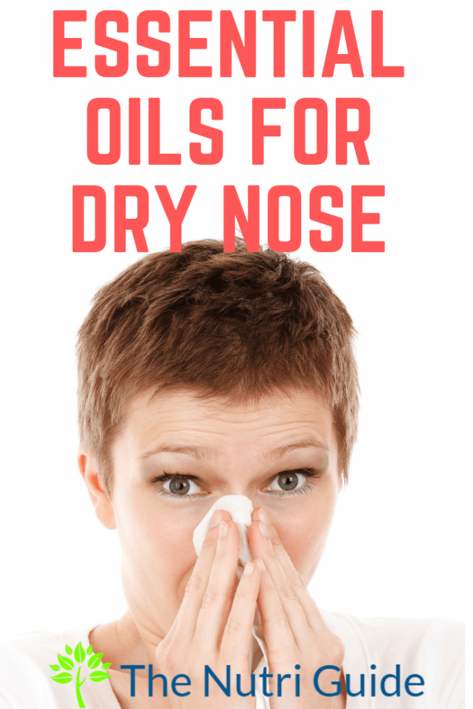 Essential oils for dry nose pin
