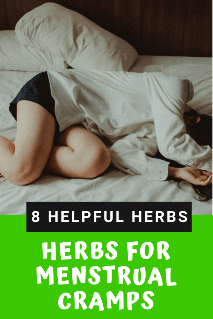Herbs For Menstrual Cramps & Pain