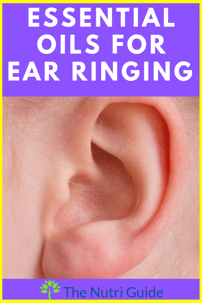 essential oils for ear ringing