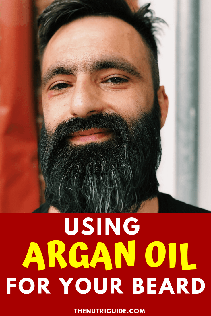 argan oil for beards