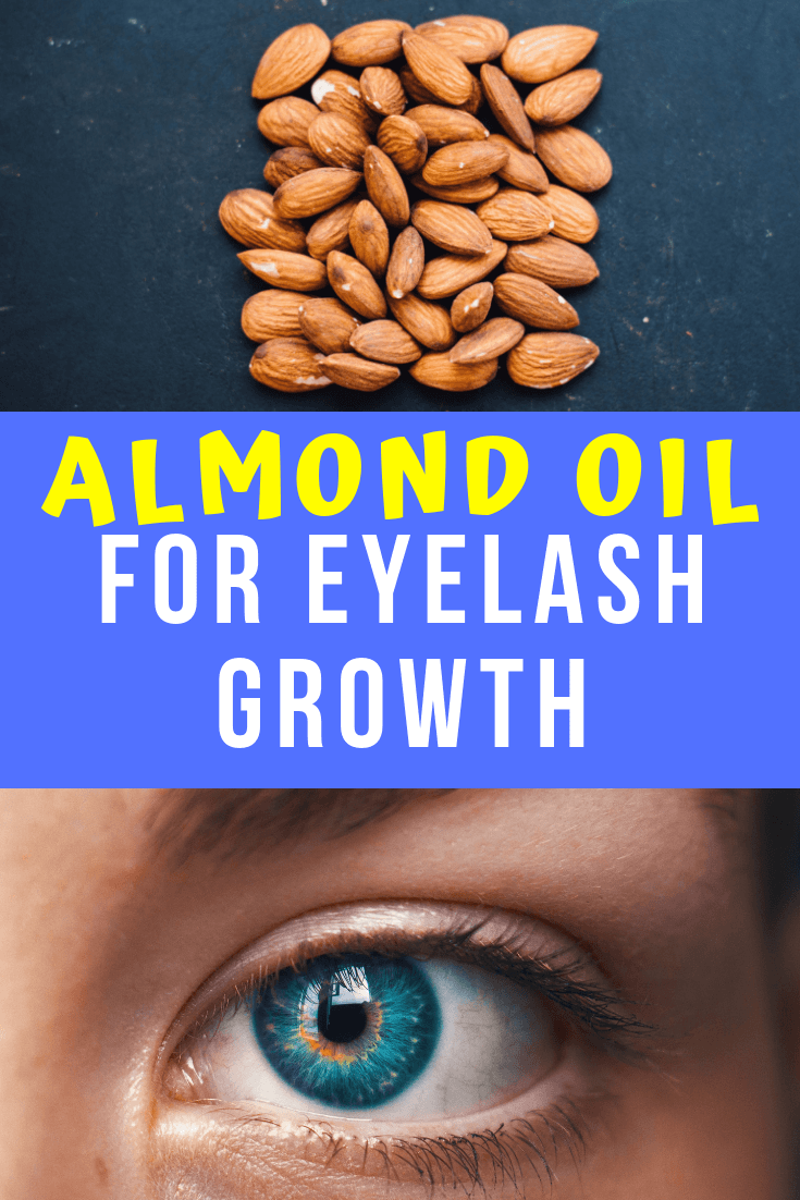 almond oil for eyelashes
