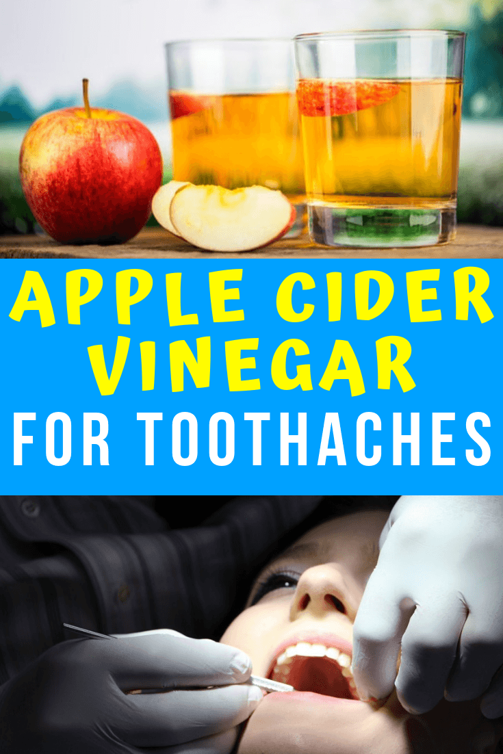 apple cider vinegar for toothaches