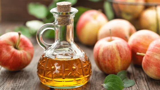 Apple cider vinegar for keloids