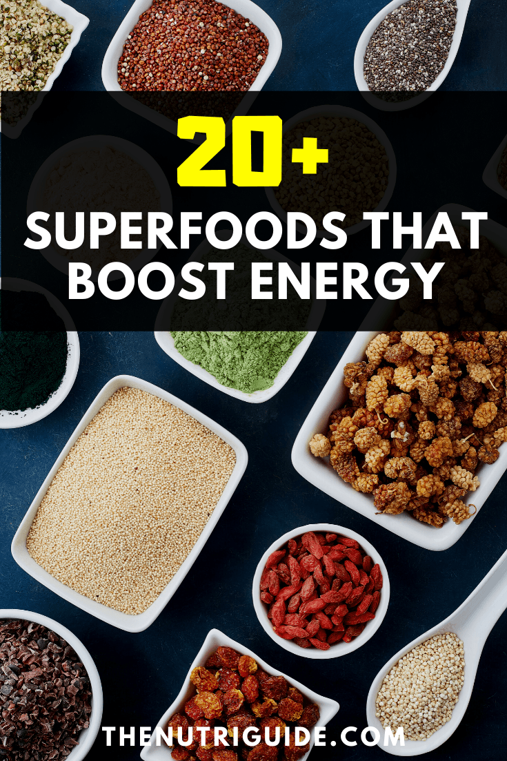 Superfoods that boost energy
