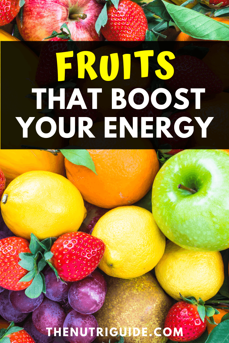 fruits for energy
