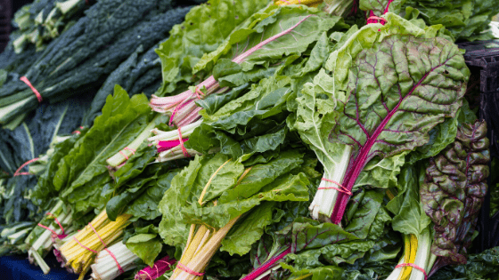 leafy greens fiber for constipation