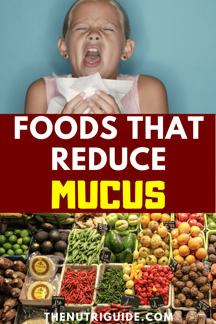 Foods to eat for mucus relief
