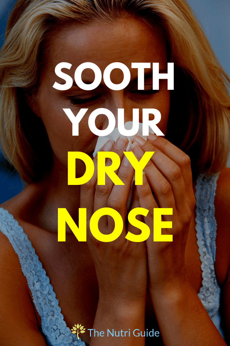 Sooth Your Dry Nose