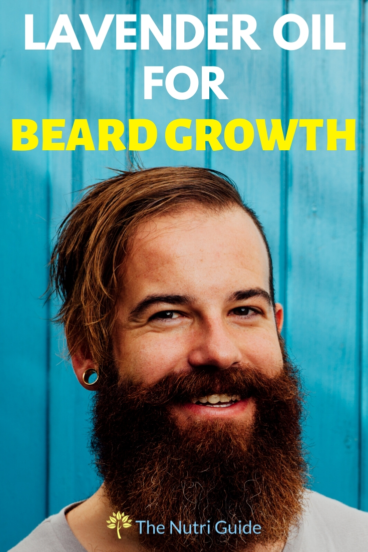 lavender oil for beard growth and thickness