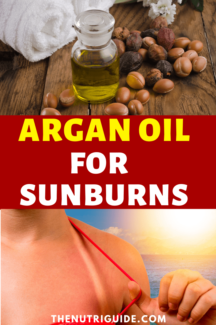 Argan Oil for Sunburns