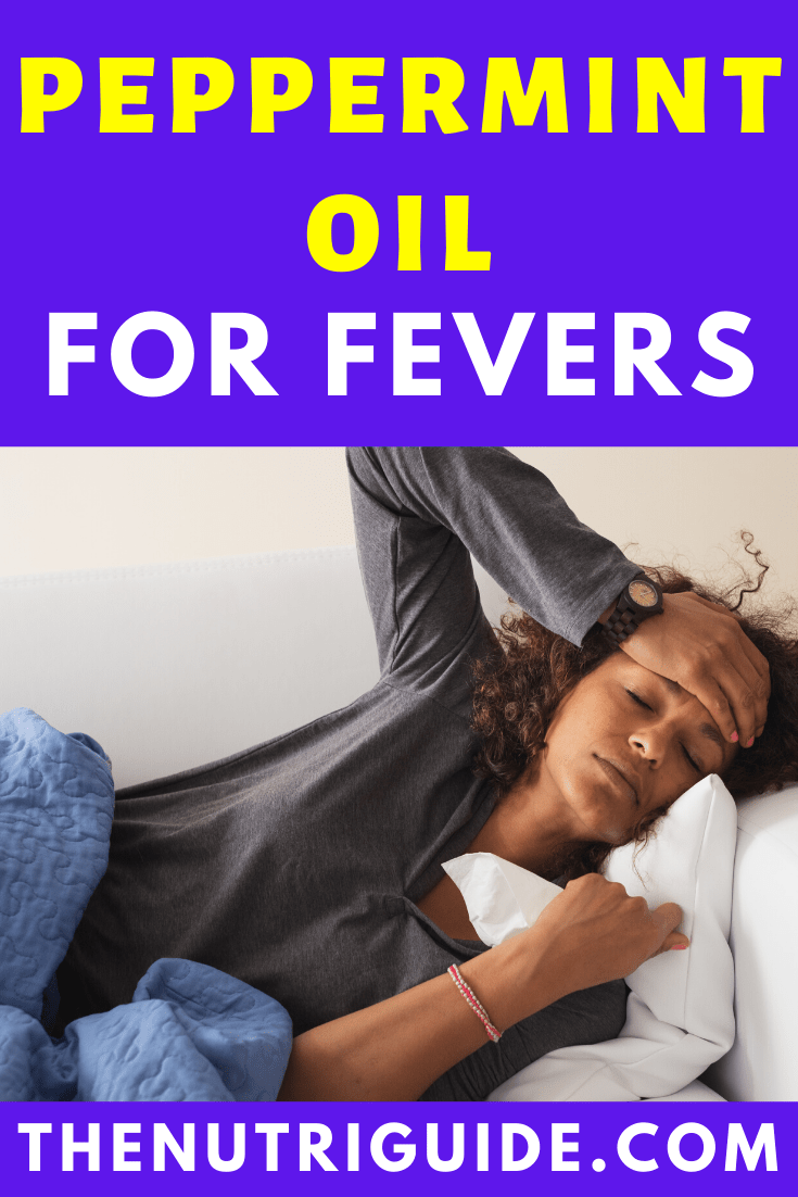 Peppermint oil for fever 2