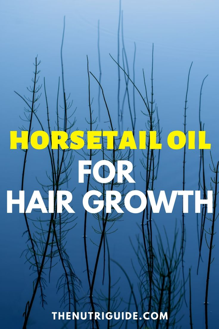 horsetail oil for hair growth