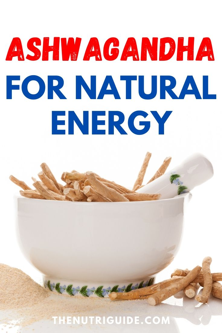 Ashwagandha for natural energy