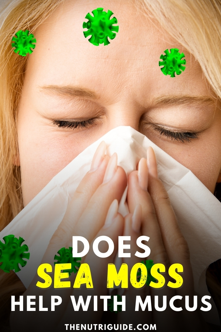 Does sea moss help with mucus